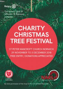 NCLS to decorate tree for the Charity Christmas Tree Festival, which is raising money for Norfolk Blood Bikes.